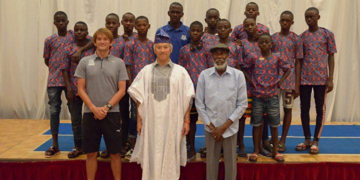 ナイジェリアU12サッカー交流会
