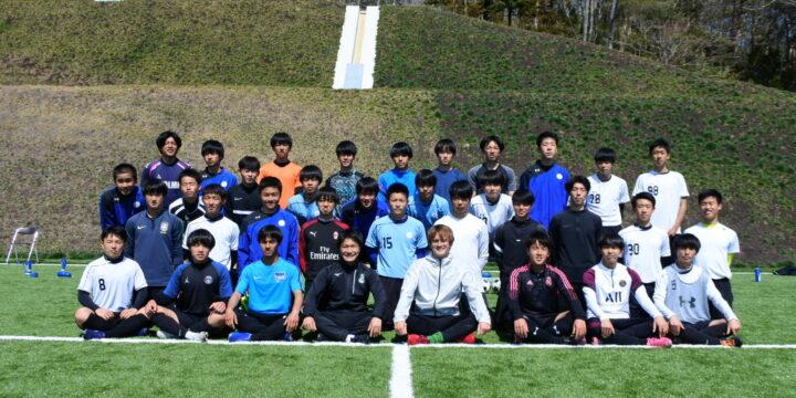 福島県立ふたば未来学園訪問、ふくしま浜街道・桜プロジェクトへの協賛と桜の植樹を行いました